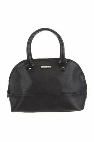 Дамска чанта Anne Klein, Цвят Черен, Еко кожа, Цена 43,68лв.