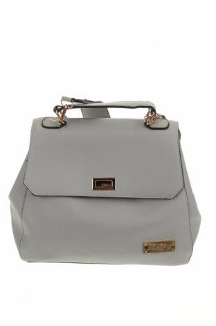 Дамска чанта Antler, Цвят Сив, Еко кожа, Цена 37,80лв.