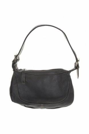 Дамска чанта Bass, Цвят Черен, Естествена кожа, Цена 34,45лв.