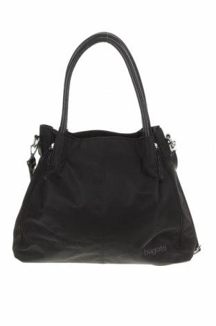 Дамска чанта Bugatti, Цвят Черен, Текстил, Цена 67,83лв.