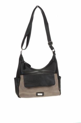 Дамска чанта Cabrelli, Цвят Черен, Еко кожа, Цена 21,62лв.