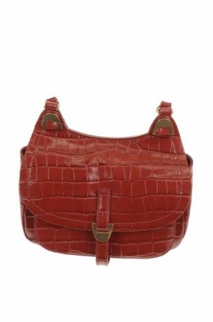 Дамска чанта Coccinelle, Цвят Червен, Естествена кожа, Цена 121,04лв.