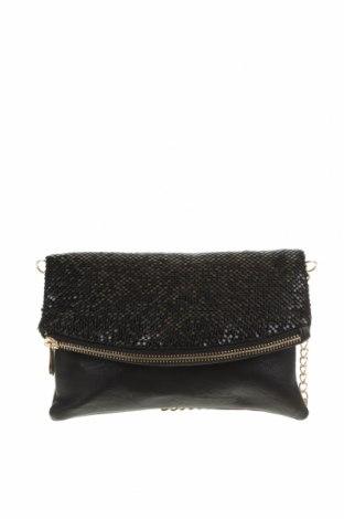 Дамска чанта Colette By Colette Hayman, Цвят Черен, Еко кожа, текстил, Цена 18,43лв.