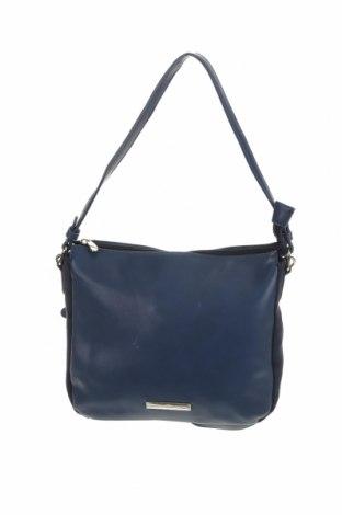 Дамска чанта Colette By Colette Hayman, Цвят Син, Еко кожа, текстил, Цена 23,94лв.