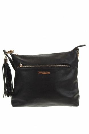 Дамска чанта Colette By Colette Hayman, Цвят Черен, Еко кожа, Цена 21,42лв.