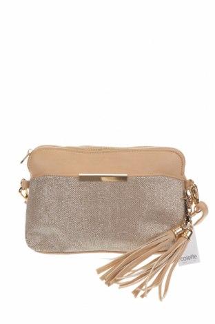 Дамска чанта Colette By Colette Hayman, Цвят Бежов, Еко кожа, текстил, Цена 35,49лв.