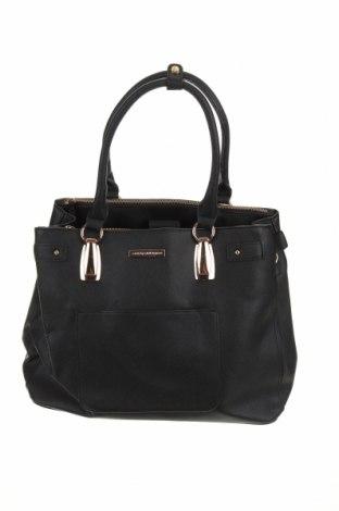 Дамска чанта Colette By Colette Hayman, Цвят Черен, Еко кожа, Цена 20,48лв.