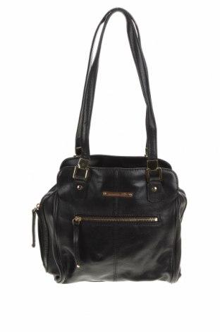Дамска чанта Colorado, Цвят Черен, Естествена кожа, Цена 32,76лв.