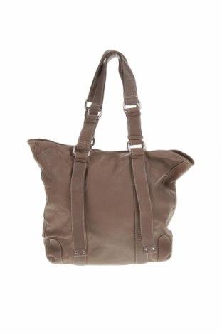 Дамска чанта Country Road, Цвят Кафяв, Естествена кожа, Цена 61,85лв.