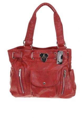 Дамска чанта Crossroads, Цвят Червен, Еко кожа, Цена 18,27лв.