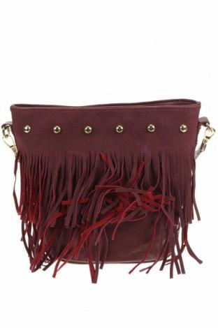 Дамска чанта Crossroads, Цвят Червен, Еко кожа, Цена 21,26лв.