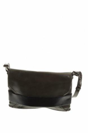 Дамска чанта Cue, Цвят Зелен, Еко кожа, Цена 21,61лв.
