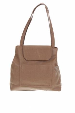 Дамска чанта Diana Ferrari, Цвят Кафяв, Еко кожа, Цена 56,70лв.
