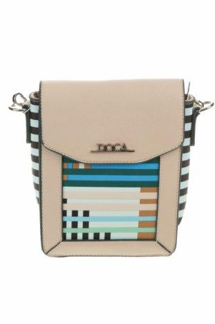 Дамска чанта Doca, Цвят Многоцветен, Еко кожа, Цена 43,89лв.