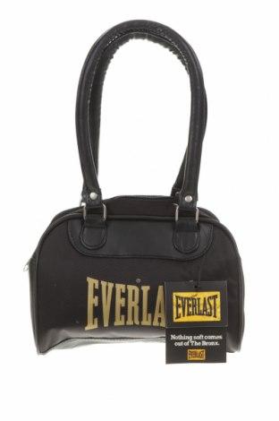 Дамска чанта Everlast, Цвят Черен, Текстил, еко кожа, Цена 38,64лв.