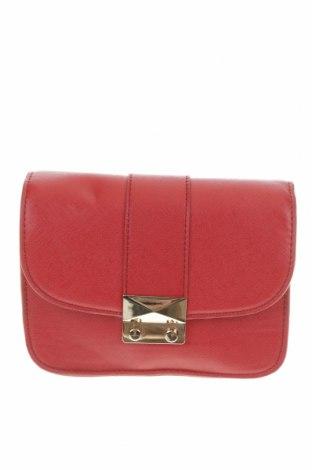 Дамска чанта Forever New, Цвят Червен, Еко кожа, Цена 15,62лв.