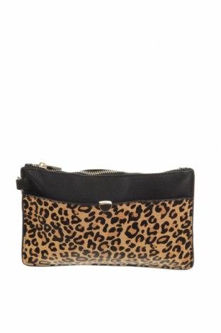 Дамска чанта Forever New, Цвят Черен, Еко кожа, текстил, Цена 6,83лв.
