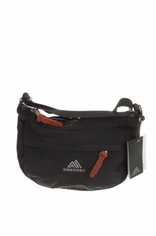 Дамска чанта Gregory, Цвят Черен, Текстил, Цена 24,57лв.