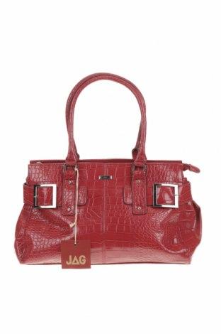 Дамска чанта JAG, Цвят Червен, Еко кожа, Цена 94,82лв.