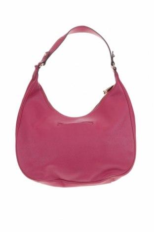 Дамска чанта Juicy Couture, Цвят Розов, Естествена кожа, Цена 57,86лв.