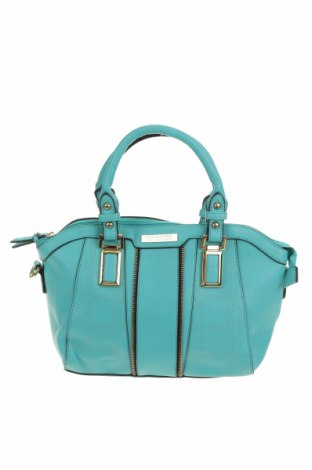 Дамска чанта Kardashian Kollection, Цвят Зелен, Еко кожа, Цена 23,21лв.