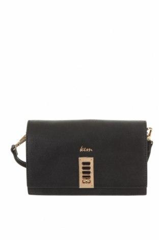 Дамска чанта Kem, Цвят Черен, Еко кожа, Цена 28,88лв.