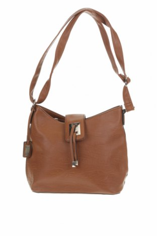 Дамска чанта Laura Jones, Цвят Кафяв, Еко кожа, Цена 25,99лв.