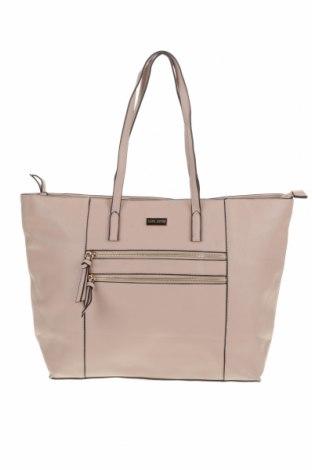 Дамска чанта Laura Jones, Цвят Розов, Еко кожа, Цена 30,35лв.