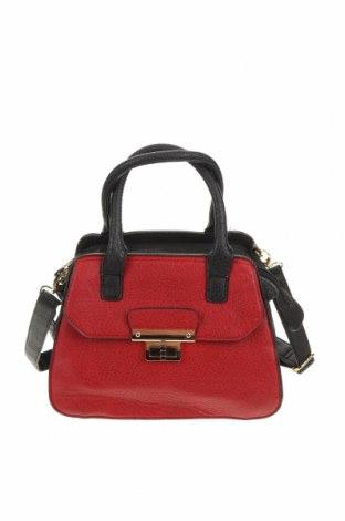 Дамска чанта Laura Jones, Цвят Червен, Еко кожа, Цена 26,25лв.