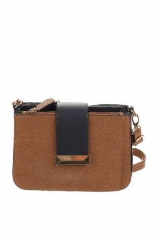Дамска чанта Laura Jones, Цвят Кафяв, Еко кожа, Цена 13,86лв.