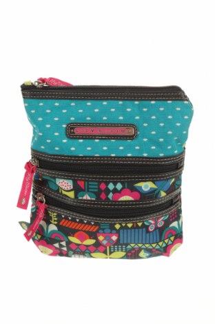 Дамска чанта Lily Bloom, Цвят Многоцветен, Текстил, Цена 14,96лв.