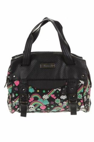 Дамска чанта Loungefly, Цвят Многоцветен, Текстил, еко кожа, Цена 26,75лв.