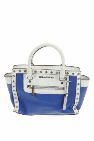 Дамска чанта MICHAEL Michael Kors, Цвят Син, Еко кожа, Цена 117,60лв.