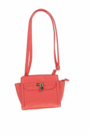 Дамска чанта Marikai, Цвят Червен, Еко кожа, Цена 20,48лв.