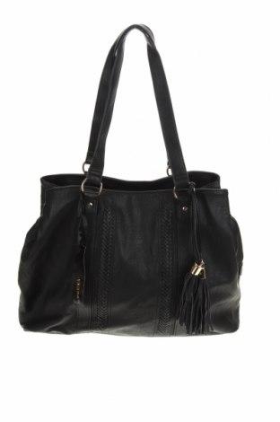 Дамска чанта Marikai, Цвят Черен, Еко кожа, Цена 40,27лв.