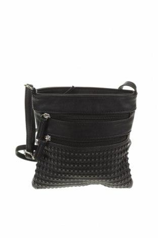Дамска чанта Marikai, Цвят Черен, Еко кожа, Цена 14,33лв.