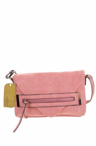 Дамска чанта Milleni, Цвят Розов, Еко кожа, Цена 24,83лв.