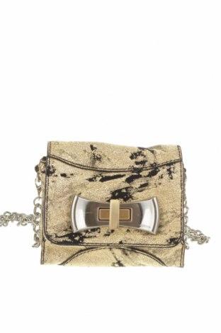 Дамска чанта Mimco, Цвят Златист, Текстил, Цена 43,37лв.