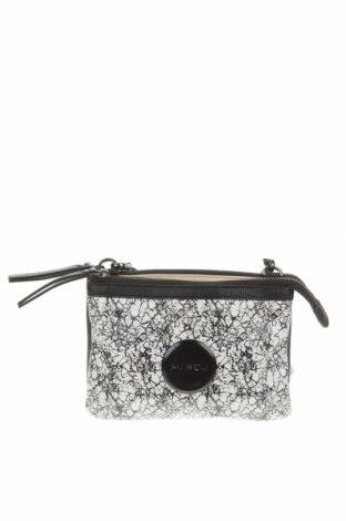 Дамска чанта Mimco, Цвят Черен, Естествена кожа, Цена 57,33лв.