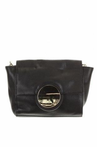 Дамска чанта Mimco, Цвят Черен, Естествена кожа, Цена 50,40лв.