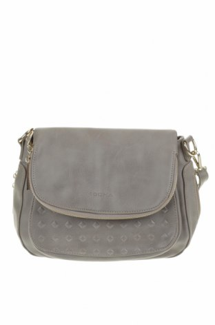 Дамска чанта Mocha, Цвят Сив, Еко кожа, Цена 29,99лв.