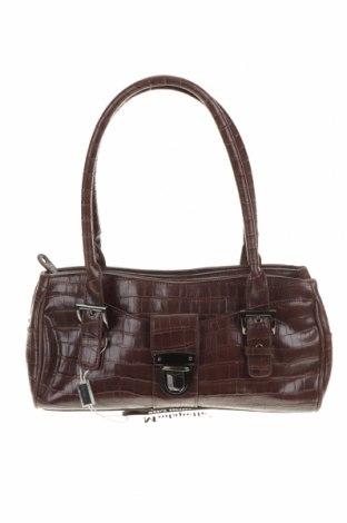 Дамска чанта Modapelle, Цвят Кафяв, Еко кожа, Цена 32,76лв.