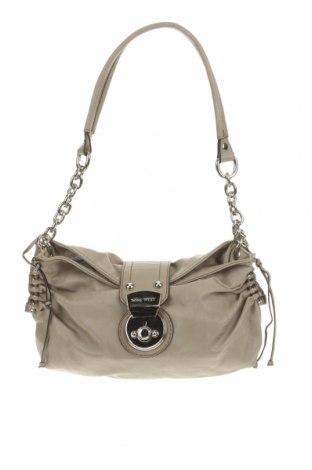 Дамска чанта Nine West, Цвят Кафяв, Еко кожа, Цена 18,65лв.
