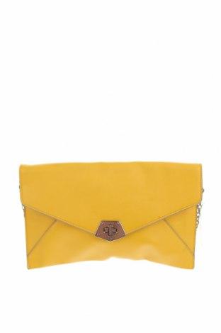 Дамска чанта Nine West, Цвят Жълт, Еко кожа, Цена 119,70лв.