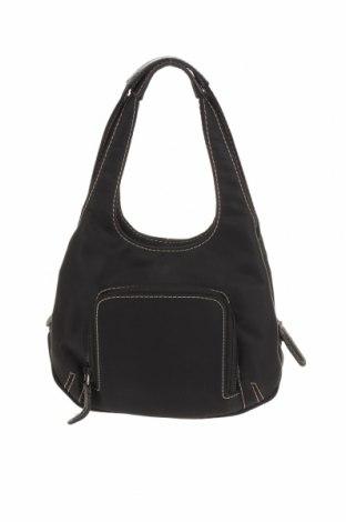 Дамска чанта Nine West, Цвят Черен, Текстил, Цена 39,90лв.