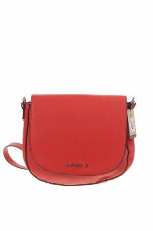 Дамска чанта Noni B, Цвят Червен, Еко кожа, Цена 13,23лв.
