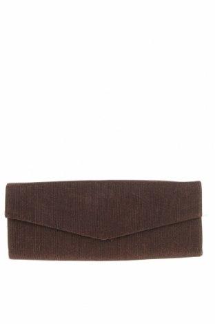 Дамска чанта Olga Berg, Цвят Кафяв, Текстил, Цена 43,37лв.