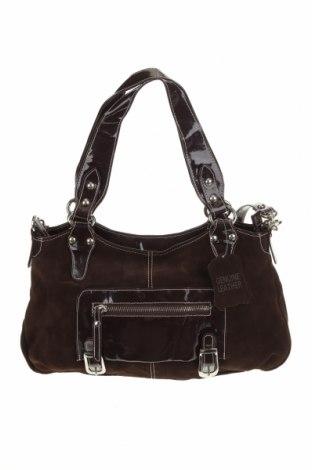 Дамска чанта Oran, Цвят Кафяв, Естествена кожа, Цена 61,01лв.