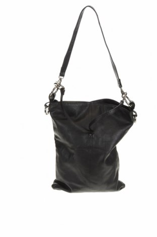 Дамска чанта Oran, Цвят Черен, Естествена кожа, Цена 33,50лв.