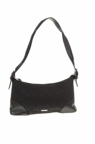 Дамска чанта Oroton, Цвят Черен, Текстил, естествена кожа, Цена 37,80лв.